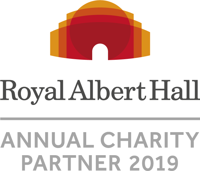 Royal Albert Hall Charity Partner Logo