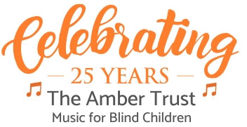Amber Trust 25th Anniversary Logo