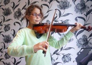 maddie violin 1