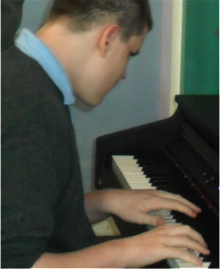 Jamie on the Piano