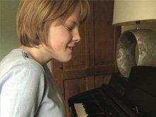 Ella on the Piano