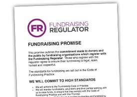 Fundraising Regulator - Fundraising Promise PDF Thumbnail