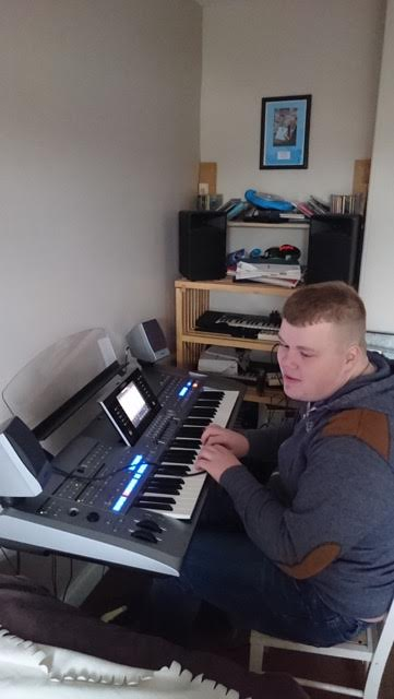 Daniel's new keyboard