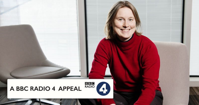 Cecily recording BBC radio 4 appeal for Amber