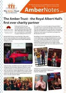 Amber Newsletter thumbnail cover image Dec 2019