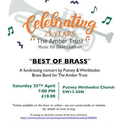 best of brass event flyer