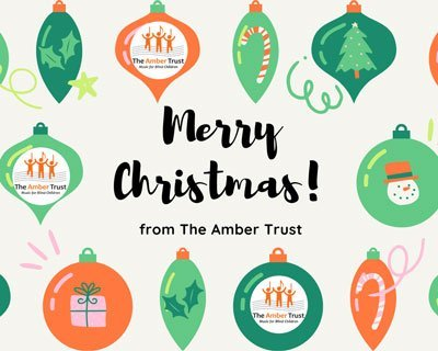 Season's Greetings from The Amber Trust