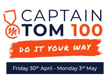 Captain Tom 100 fundraising campaign